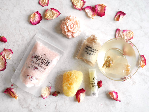 Rose Relax Spa Kit