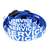 Blue Service Dog Collar