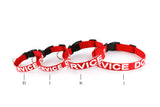 Red Service Dog Collar