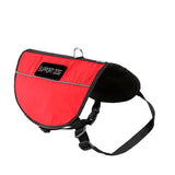 Red Support Dog Vest In Plus Package
