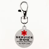Service Dog Stainless Steel Tag