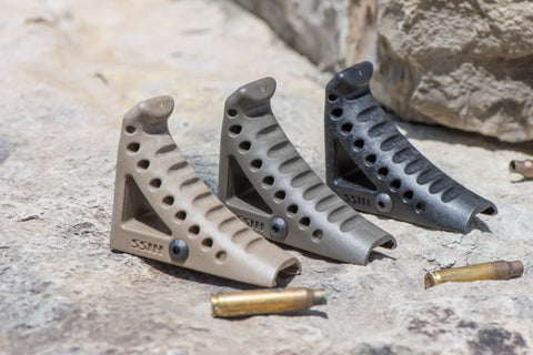 HISS Curved Foregrip (CFG)  (For Rifles and Carbines Only, ATF Pending)