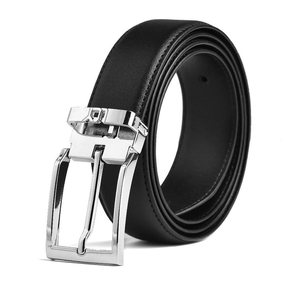 Men's Dress Belt Leather Adjustable - 1.3