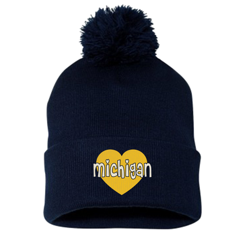 Michigan Heart Hat