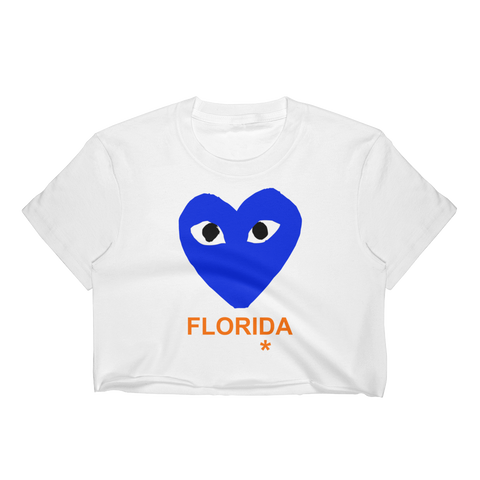 CDG University of Florida Crop Top