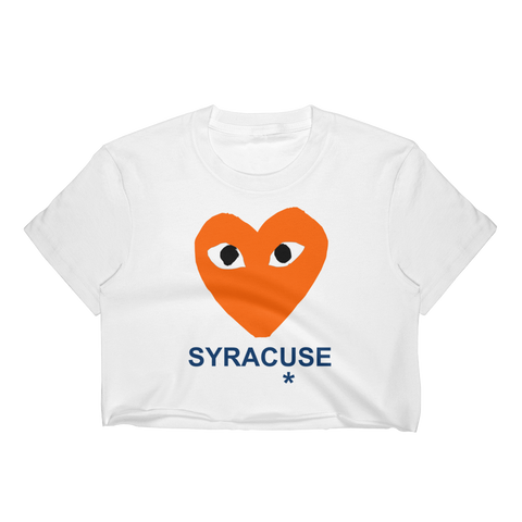 CDG Syracuse Crop Top