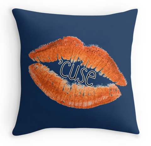 Syracuse Lips Pillow