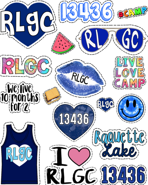 RLGC Sticker Sheet