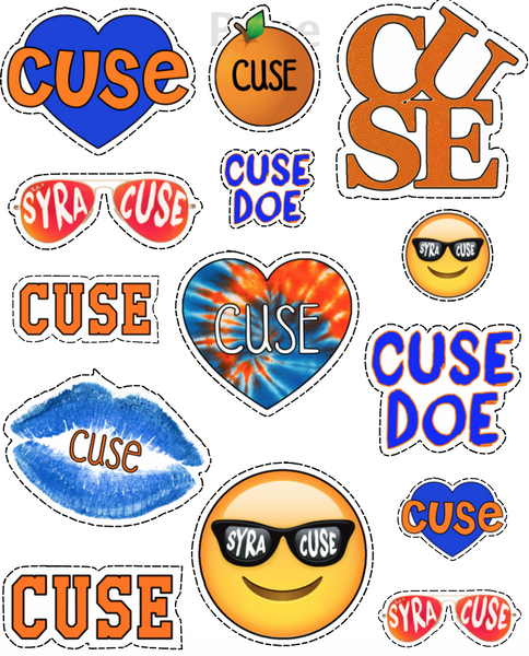 Syracuse Sticker Sheet