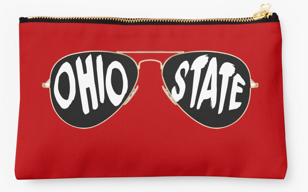 Ohio State Sunglasses Pouch