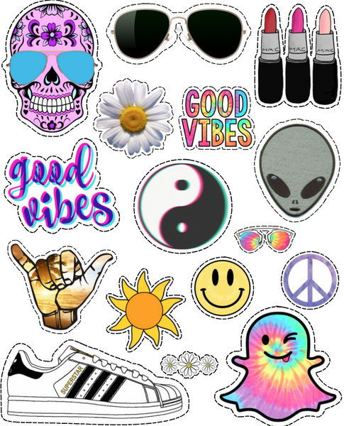 Good Vibes Sticker Sheet
