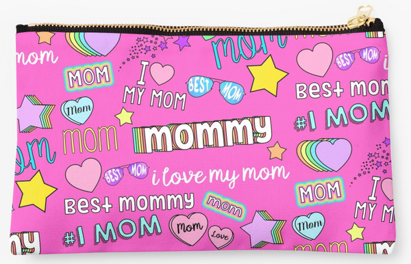 Best Mom Collage Pouch