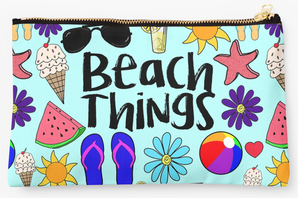 Beach Things Pouch