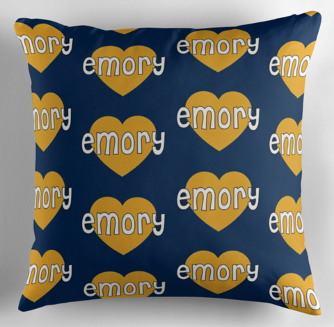 Emory Hearts Pillow