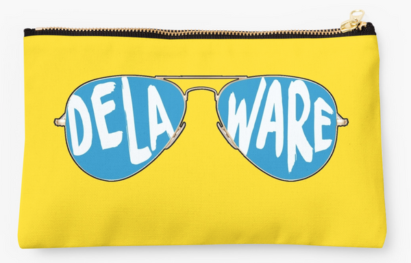 University of Delaware Sunglasses Pouch