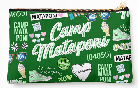 Mataponi Collage Pouch