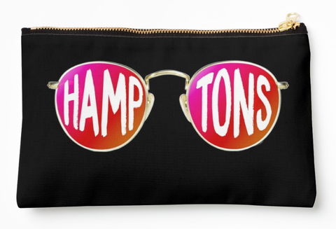Hamptons Round Glasses Pouch