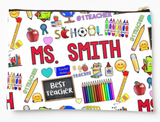 Custom Teacher Pouch