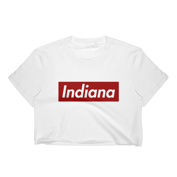 Indiana Block Crop Top
