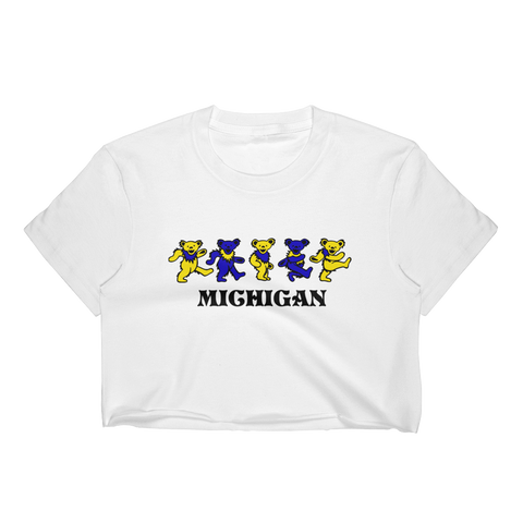 Michigan Bears Crop Top