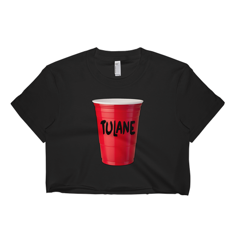 Tulane Red Cup Crop Top