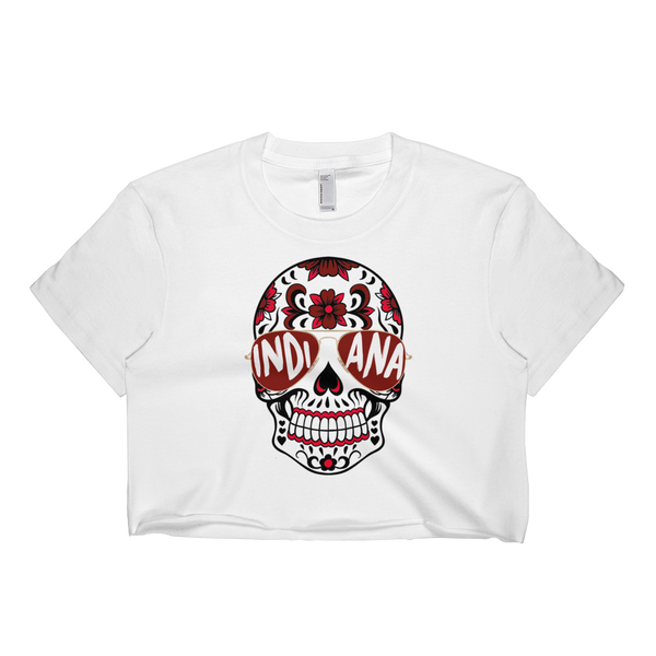 Indiana Skull Crop Top
