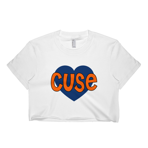 Syracuse Heart Crop Top