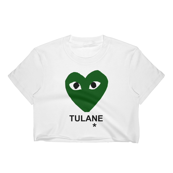 CDG Tulane Crop Top