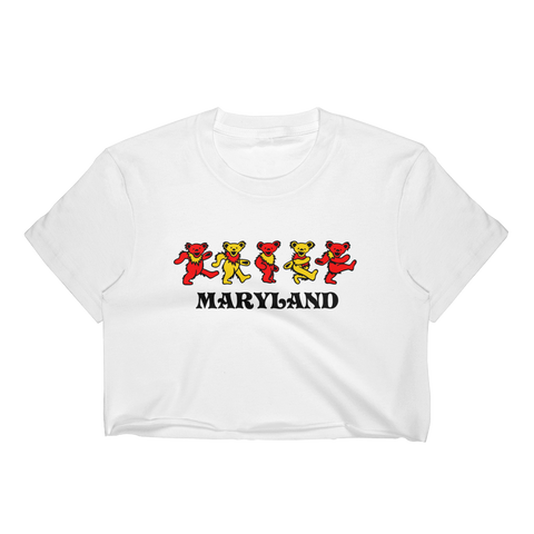 Maryland Bears Crop Top