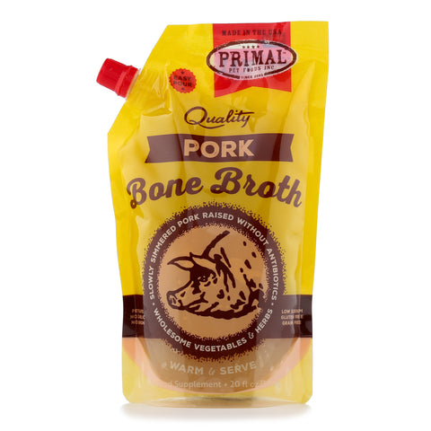 Primal Pork Bone Broth 20 oz.