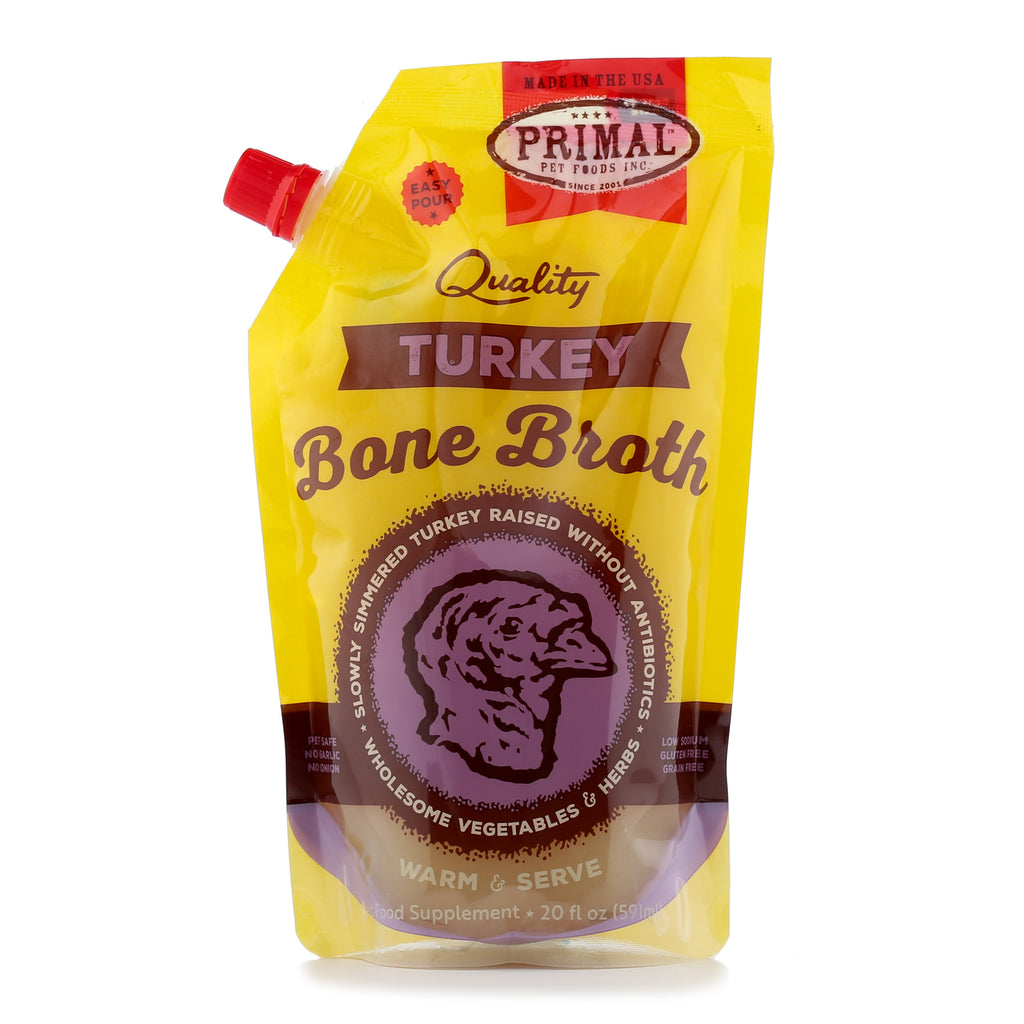 Primal Turkey Bone Broth 20 oz.