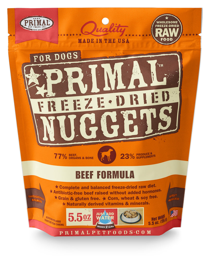 Primal Raw Freeze-Dried Canine Beef Formula