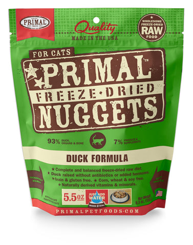 Primal Raw Freeze-Dried Feline Duck Formula