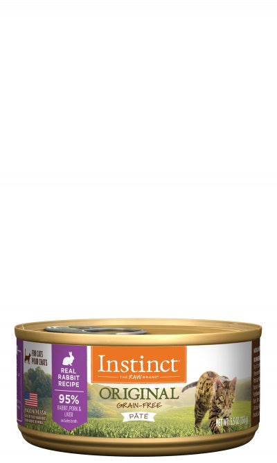 Instinct Original Real Rabbit Recipe for Cats Can
