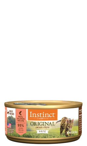 Instinct Original Real Salmon Recipe for Cats Can