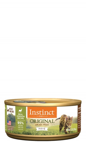 Instinct Original Real Venison Recipe for Cats Can