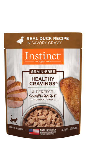 Instinct Healthy Cravings Real Duck Recipe for Cats 3 oz.