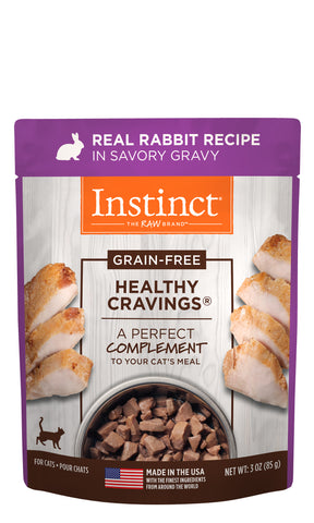 Instinct Healthy Cravings Real Rabbit Recipe for Cats 3 oz.