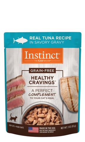 Instinct Healthy Cravings Real Tuna Recipe for Cats 3 oz.