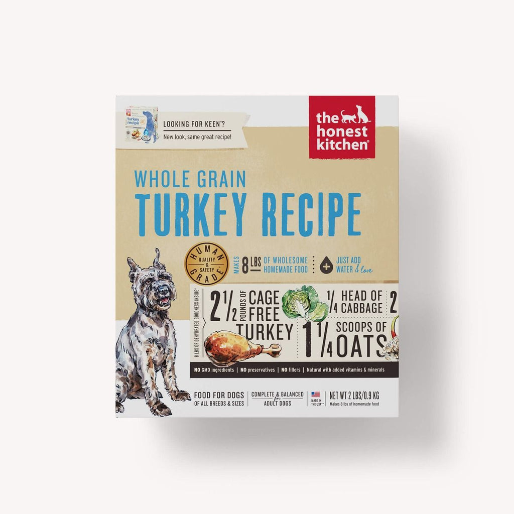 The Honest Kitchen Dehydrated Whole Grain Turkey Recipe (Keen) for Dogs
