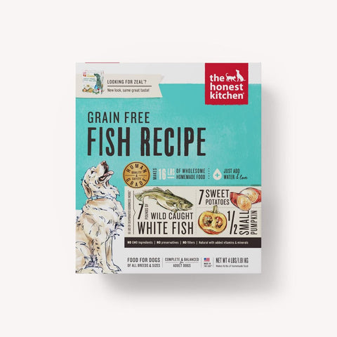 The Honest Kitchen Dehydrated Grain Free Fish Recipe (Zeal) for Dogs