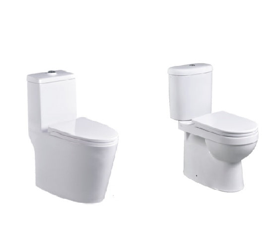 Description Of One Piece Toilet Bowl and Two Piece Toilet Bowl