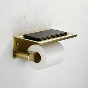GOLD Toilet Paper Roll Holder