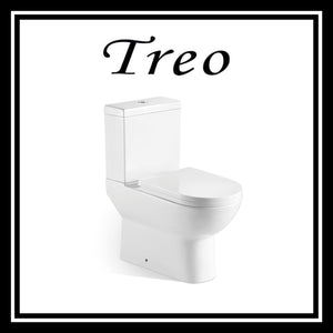Treo Two-piece Toilet Bowl 8009