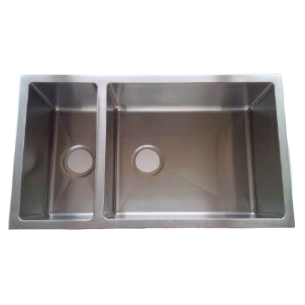 Handmade 1.2 mm Kitchen Sink (Double Bowl)