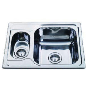 Top Mount Kitchen Sink (Double Bowl)