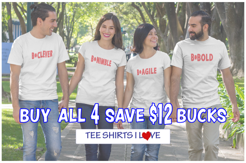Buy 4 Get $12 Off Tee Shirt Special