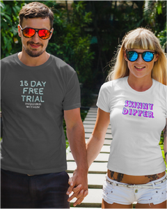 15 Day FREE Trial Men's Tee