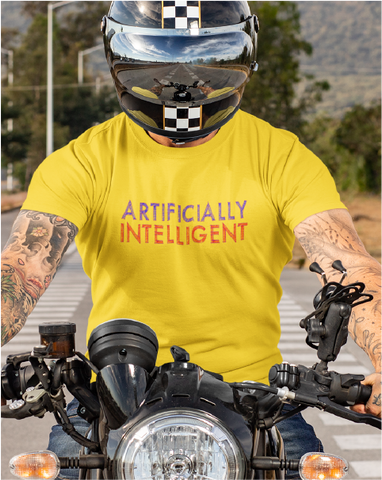 ARTIFICIALLY INTELLIGENT Men's Tee