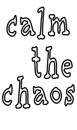 calm the chaos Men's Tee